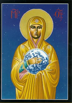 Fr. McNichol's Image of Mary Most Holy,  Mother of All Nations